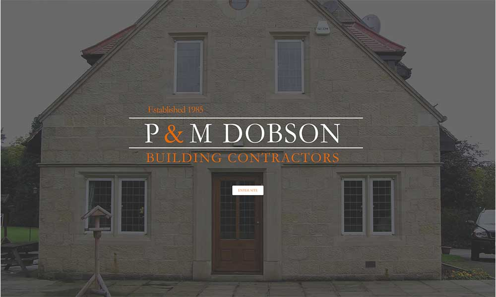 Charlotte Fox Marketing Web Design Skipton dobson builders