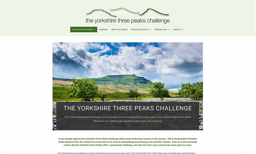 Charlotte Fox Marketing Web Design Skipton three peaks